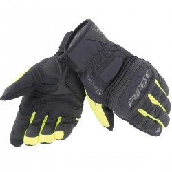 Guantes Dainese Clutch Evo D-Dry negro / amarillo fluor