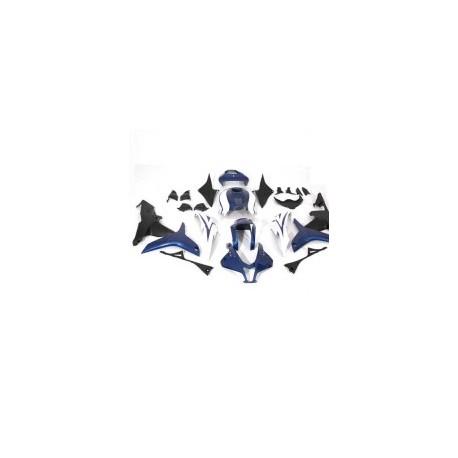 JGO. CARENADOS ABS Y PP HONDA CBR 600 RR 07-08 AZUL / BLANCO