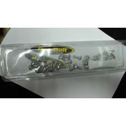 Kit tornillería aluminio carenado Pro-Bolt Honda Cbr 600 Rr 2007 - 2008 Plata *