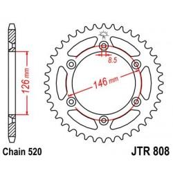 Corona de arrastre / Plato Jt acero Suzuki 39 dientes