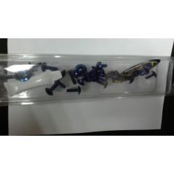 Kit tornillería carenado aluminio Pro-Bolt Suzuki Gsx-R 1000 2003 - 2004 azul *